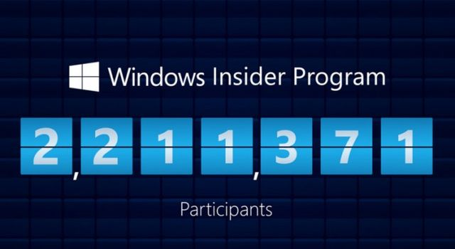 In a week there are more than 500,000 testers Windows 10