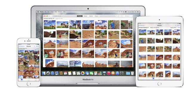 Apple kills iPhoto and represents Photos