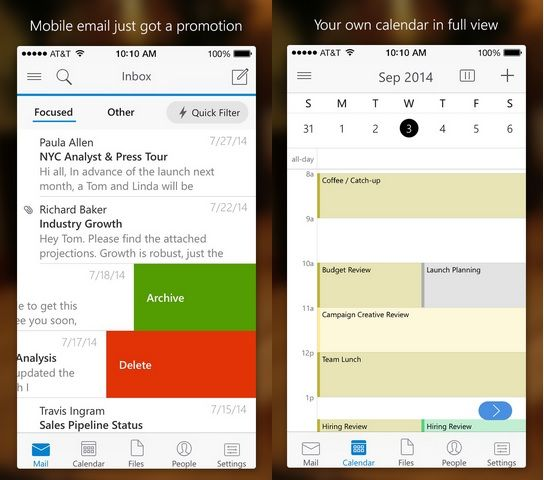Microsoft makes Calendar app Sunrise