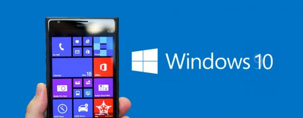 Microsoft Partners received the first build of Windows 10 for smartphones