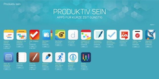Productivity apps SALES