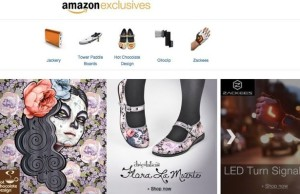 On Amazon appeared Exclusives section with Kickstarter-products