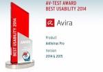 AV-TEST found Avira most convenient and user-friendly Antivirus year
