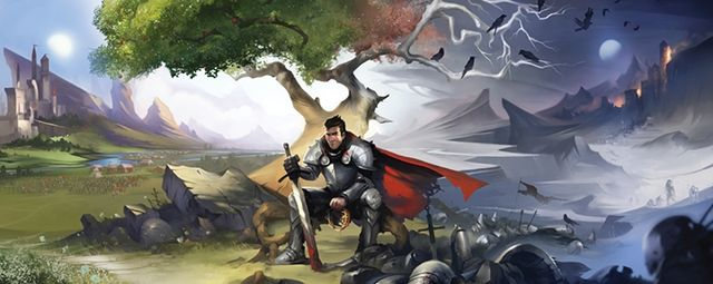 On Kickstarter funded for three days voxel MMO-game Crowfall