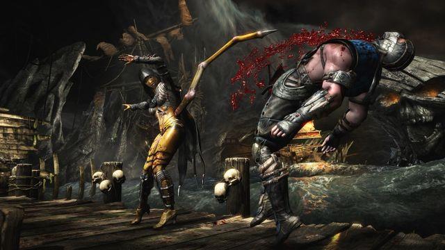 Admiring fatalities in the new Mortal Kombat X