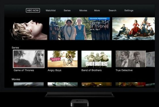 The premiere of HBO NOW for Apple TV, iPhone and iPad