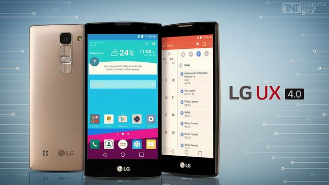 LG showed a new interface LG UX 4.0