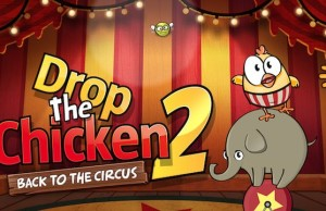 Drop The Chicken 2 - has 100 levels with a charming chicken