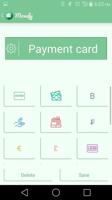 Choosing a financial manager for Android: Monefy