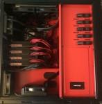 Four video cards Radeon R9 Fury X coexist in the same desktop