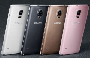 The smartphone Samsung Galaxy Note 5 is found connector USB type-C