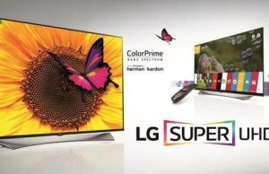 LG introduced a new line of TVs in 2015