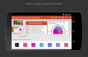 Microsoft Office is available for Android-smartphone