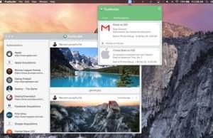 OS X. Applications style Yosemite