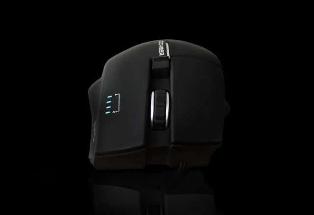 Review and prices Qcyber ZORG Blue. Professional Gaming Mouse
