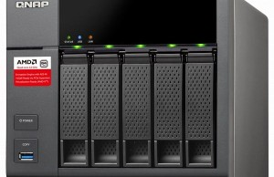 File Server QNAP TS-563 is built on AMD