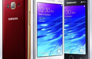Samsung has sold more than one million smart phones Tizen-Z1