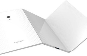 Samsung patented a folding tablet with a flexible display