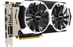 Adapter MSI GeForce GTX 960 OC Armor X2 starts on sale for $ 300
