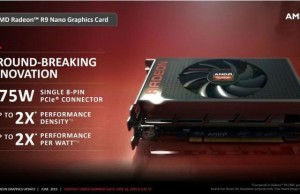 AMD has confirmed its willingness to submit to the graphics card Radeon R9 Nano in August