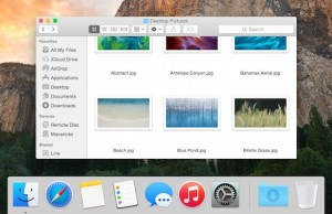 How to display only the applications that are running in OS X
