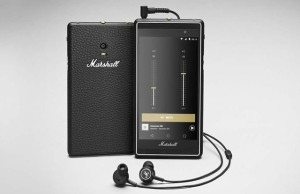Marshall is a smartphone for music lovers