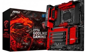 MSI introduced the X99A Godlike Gaming