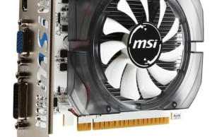 MSI launches adapter GeForce GT 730 with a new cooler and white textolite