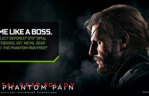 NVIDIA beginning to complete their card code for a free download Metal Gear Solid V