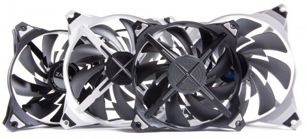 Review and testing of fans Zalman ZM-DF14BL and Zalman ZM-DF12