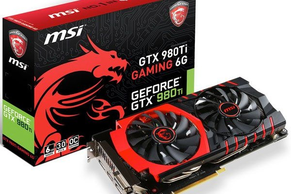 Review MSI GeForce GTX 980 Ti Gaming 6G