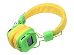 Review and tests HARPER HB-411. Headset for Android and iOS with LCD-display and player