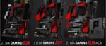 Snapshot Trio game series motherboards MSI Z170A Gaming M lit up the web