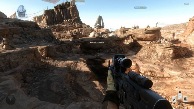 Star Wars: Battlefront: trailers and screenshots of the alpha version