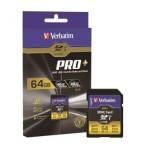 Verbatim is a high-speed SD-card series of Pro +