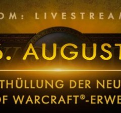 World of WarCraft: the next addition will be shown at Gamescom