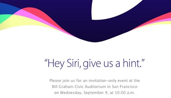 Apple will introduce a new iPhone on September 9