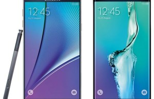 Flagships of Samsung Galaxy Note 5 and Galaxy S6 EDGE Plus