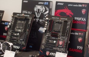 """Gamescom 2015: MSI motherboards flooding the market for the """"Skylake"""""""