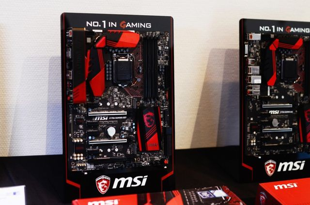 "Gamescom 2015: MSI motherboards flooding the market for the ""Skylake"""