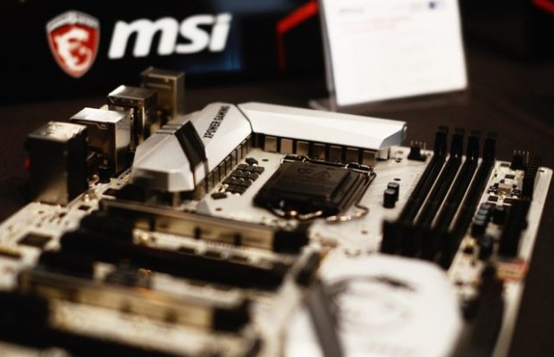 Gamescom 2015: MSI showed silver motherboard Z170A XPower Gaming Titanium Edition