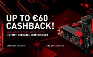 MSI launches in Europe Cashback program for its gaming products