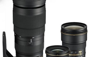 Nikon introduced three new full-frame lens
