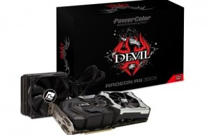 PowerColor introduced Devil Radeon R9 390X hybrid cooler