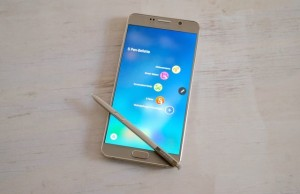 Presented smartphone Galaxy Note 5 (first impressions)