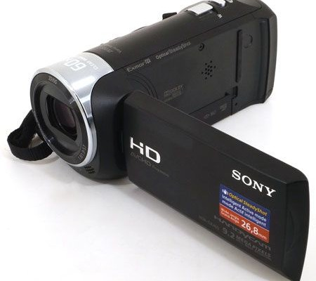 Review camcorder Sony HDR-CX405