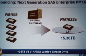 Samsung showed a capacious and speedy server SSD