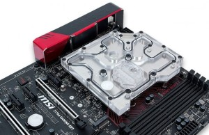 EK waterblock unveiled for MSI Gaming Z170A M7