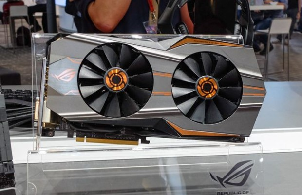 IFA 2015: ASUS has showed video card GeForce GTX 980 Ti Matrix Platinum