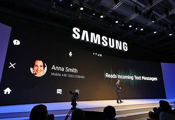 IFA 2015. Samsung is sent to the Internet of things, the policy statement